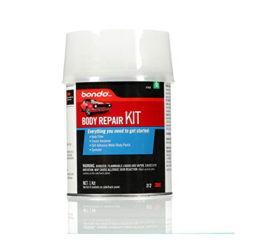 Bondo Body Repair Kit, 00312, Everything You Need to Get Started, 1 Kit