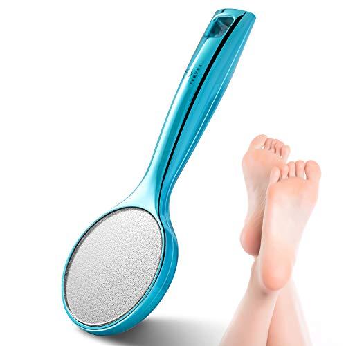 FERYES Innovative Nano Glas Hornhautentferner, Zur Hornhautentfernung auf nassen und trockenen Füßen, Seidig weiche Füße, Professionelle Fußpflege