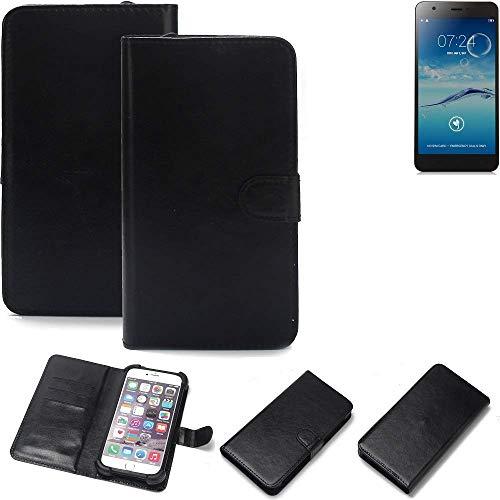 K-S-Trade® Handy Schutz Hülle Für Jiayu S3+ Schutzhülle Bumper Schwarz 1x