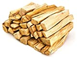 Earthwise Palo Santo - 100% Natural - 20 Sticks - Sustainably Harvested - High Resin Content Aromatics