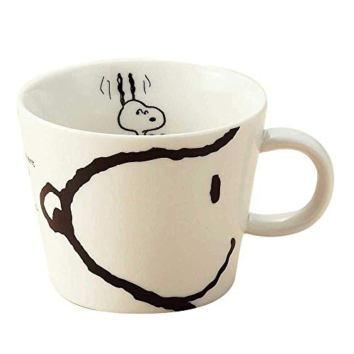Snoopy Peanuts Character Large Size Mug Cup Face