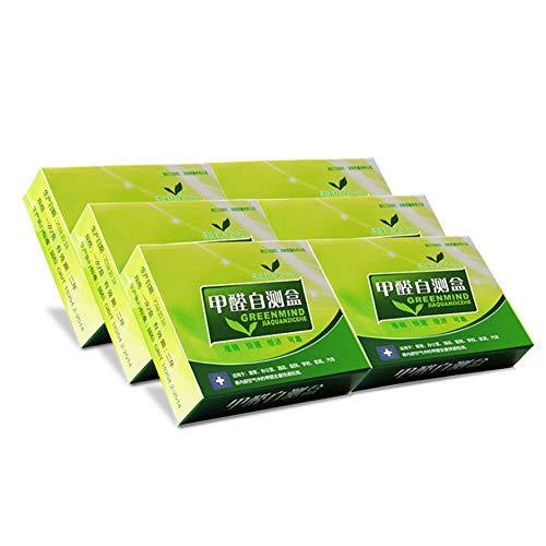 Luckyx Formaldehyd-Testkits Formaldehyd-Luftkit De Test Rapide Ménage Intérieur Qualité De Pollution Capteur Testeur Fournitures Luftqualitätstester, Formaldehyd-Kit