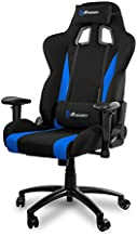 Arozzi INIZIO-FB Computer Gaming/Office Chair, Black and Blue