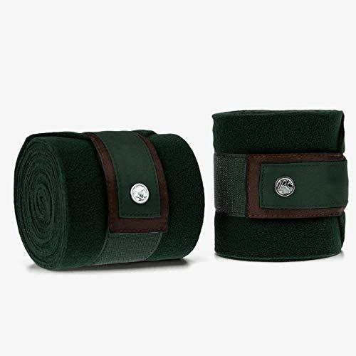 PS of Sweden Fleece-Bandagen, 4er Satz in Emerald