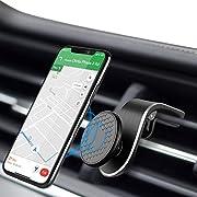 Modohe Handyhalterung Auto Magnet L-Typ 360 ° Drehung Kfz Handyhalter fürs Auto Lüftungshalterung Kompatibel für iPhone 12pro, Samsung Galaxy Note 10 S10, Huawei P40 P30 usw