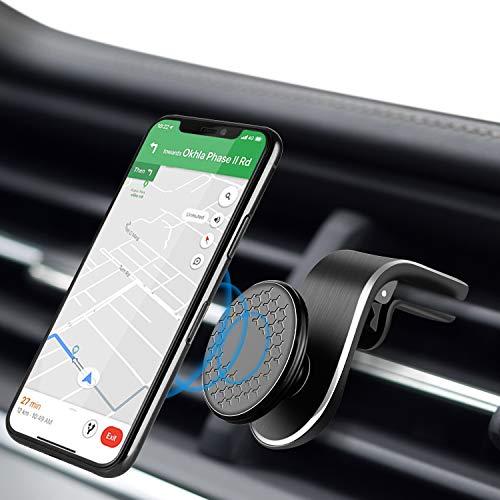 Modohe Soporte Móvil Coche para Ventilación de Aire Magnético Soporte Teléfono Coche Imán con 360 Grados Rotación Adecuado para Xiaomi iPhone Moto G6 Samsung S10 Huawei P40 Pro Xperia GPS, etc.