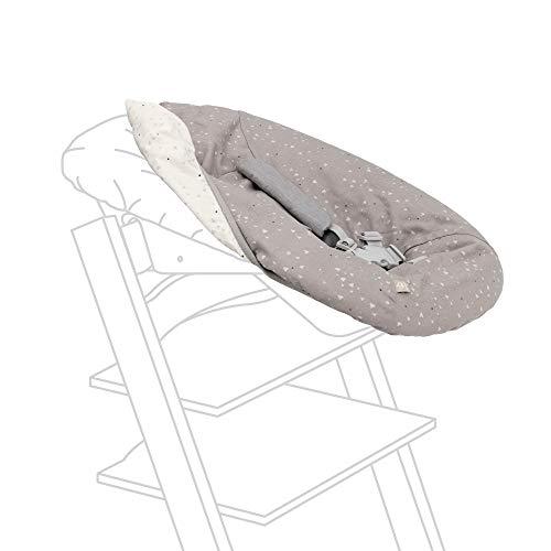 Tripp Trapp - Set di biancheria per neonato, motivo: cuoricini dolci - Aggiungi stile e convenienza al tuo set Tripp Trapp, lavabile in lavatrice + reversibile, realizzato in cotone biologico