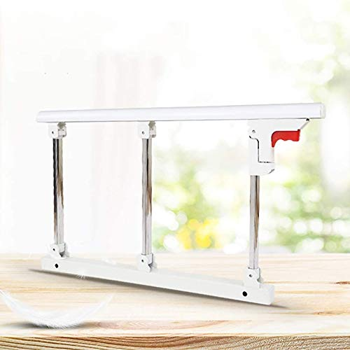 QFF Foldable Bed Assist Bar for Seniors, Anti-Fall Bed Rails Assist Handle,for Medical Hospital Home Care, 70 40cm