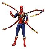 Diamond- Marvel Select Figura Iron Spider-Man, Multicolor (APR182169) , color/modelo surtido...