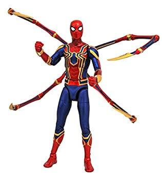 DIAMOND SELECT TOYS Marvel Select  Avengers Infinity War Spider-Man Action Figure