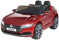 Actionbikes Motors Kinder Elektroauto VW Arteon - Lizenziert - 2 x 45 Watt Motoren - 2,4 Ghz Fernbedienung - Eva Reifen - Multimedia Touch Display (Chilirot Lackiert)