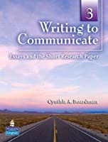 Writing to Communicate Level 3 Student Book