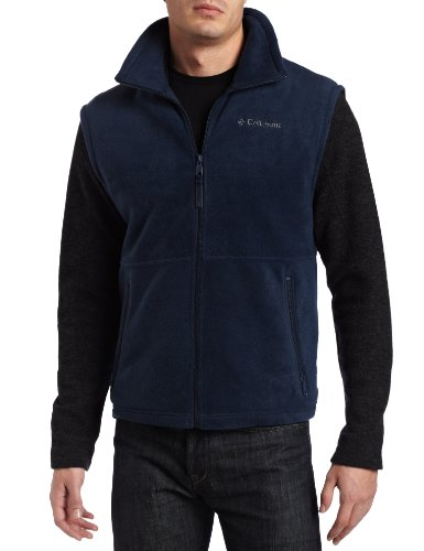 Columbia Cathedral Peak - Chaleco de forro polar para hombre - azul - X-Large