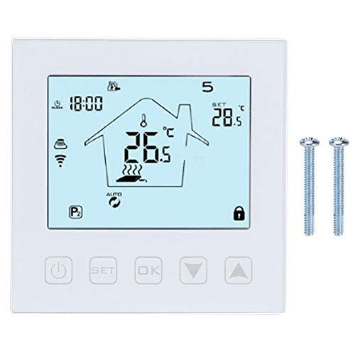 Touchscreen temperatuurregelaar APP WIFI Vloerverwarming Thermostaat voor Google Voice Gebruiksvriendelijke vloerverwarmingsregeling AC90~240V 50/60Hz
