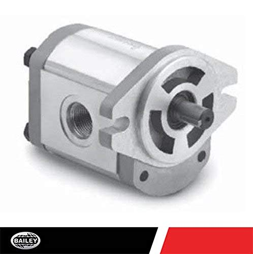 CHIEF Gear Pump: 3/4'' Dia. Keyed Shaft, 0.73 CID, 5.9 GPM @ 2000 RPM, 3600 Max PSI, 3000 Max RPM with SAE 12 Inlet and SAE 10 Outlet Ports, CW Rotation, 252199