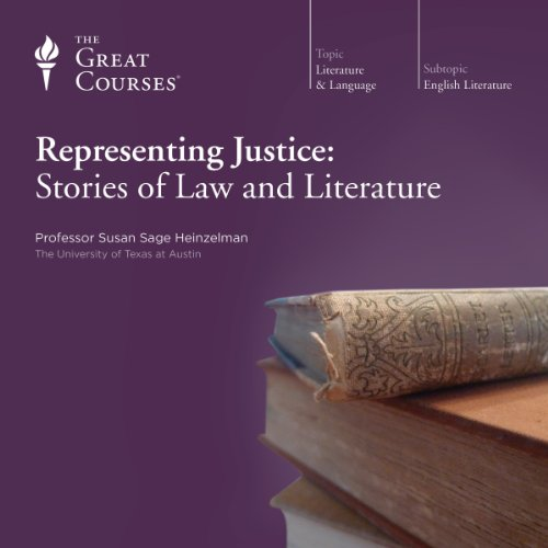 Page de couverture de Representing Justice: Stories of Law and Literature