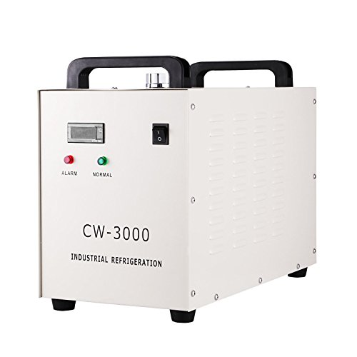 BananaB 9L Industrieller Wasserkühler 50W Water Chiller Wasserkühlung CW-3000 Thermolysis Industrial Water Cooler Chiller for CNC Engraving Machines (CW-3000)