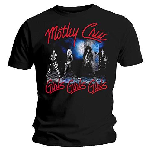 Motley Crue - T-Shirt - Uomo Nero Medium