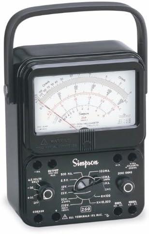 Simpson 260-8 12388 Multimeter Very popular Black In stock Analog