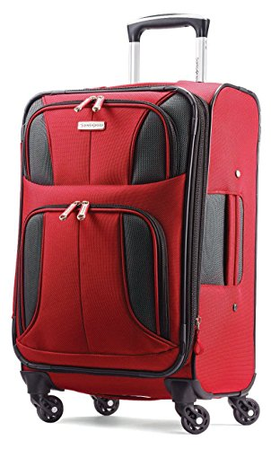 Samsonite Aspire XLite 20' Expandable Spinner Red-Black