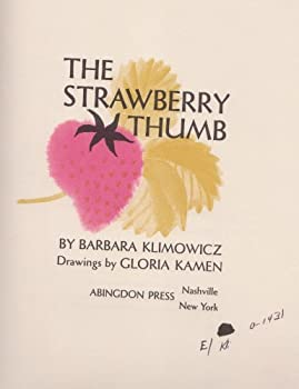 Hardcover The strawberry thumb Book