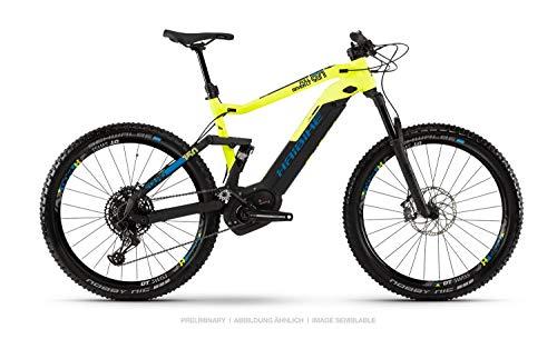 """HAIBIKE Sduro FullSeven LT 9.0 27.5"""" Pedelec E-Bike MTB nero/giallo/blu 2019: taglia: L"""