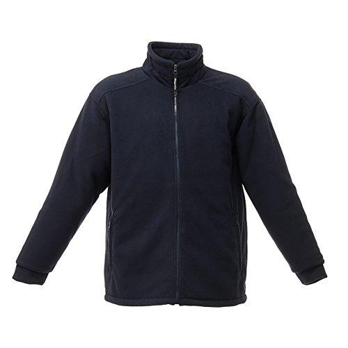 Regatta Men 'S Asgard II Quilted Long Sleeve Fleece Jacke Größe L Dunkles Marineblau