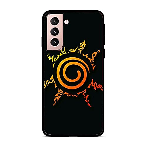 istyleishow Lightweight Smooth Black Coque Matte Soft TPU Slim Case Silicone Cover for Samsung Galaxy S21+/S21 Plus-Naruto-Manga 6