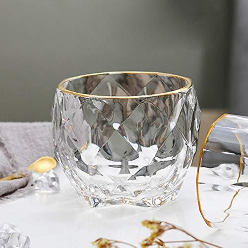 Copas De Champán, Tazas, Regalos Vaso De Cristal De Whisky De Cristal Ligero Creativo Para El Bar En Casa, Cerveza, Agua Y Fiesta, Hotel, Regalo De Boda, Vasos