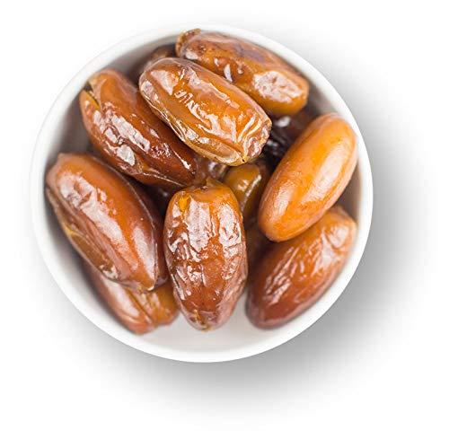 1001 Frucht Deglet Nour Datteln entsteint 1000 g - Rohkost Datteln naturbelassen I Aromatische Datteln aus Tunesien ohne Zusätze I Trockenfrüchte Datteln ohne Zucker ungeschwefelt gentechnikfrei