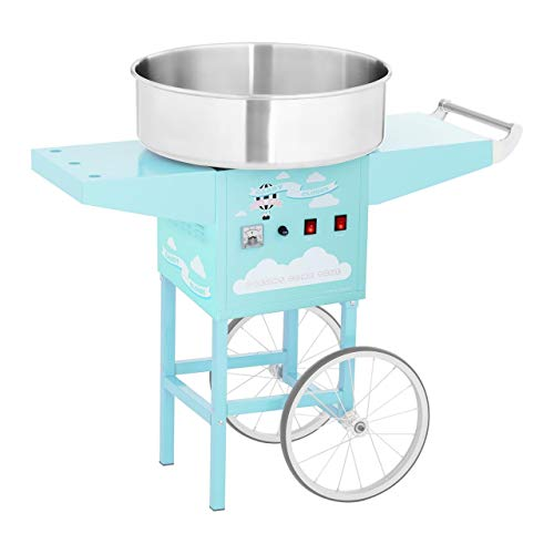 Royal Catering - Cotton Candy Machine Professional trolley