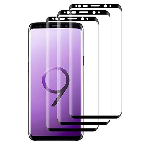 Alta Definicion Hanbee Cristal Templado Xiaomi Mi 8 Lite Resistente a Ara?azos,Vidrio Templado Xiaomi Mi 8 Lite 3 Unidades Protector de Pantalla Xiaomi Mi 8 Lite 9H Dureza