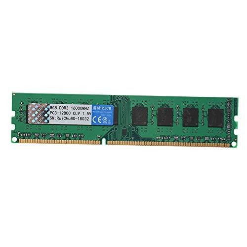 Memória RAM DDR3 de 8 GB para placas-mãe AMD PC3-12800 1600 MHz RAM para desktop PC Memory Ram 240 pinos módulo de memória