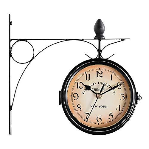 relojes de pared estacion de tren de la marca Foreate