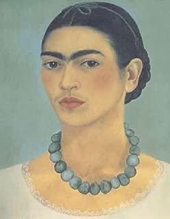 Frida Kahlo Self Portrait With Necklace 24x31 [Kitchen]