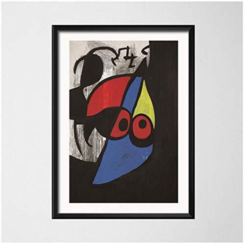 Joan Miro Pinturas de arte Cuadro abstracto Arte retro