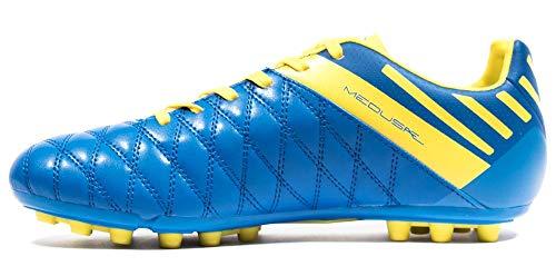 Umbro Medusae II Club AG, Zapatillas de fútbol Sala Hombre, Azul (Electric Blue/White/Blazing Yellow FBR), 42.5 EU