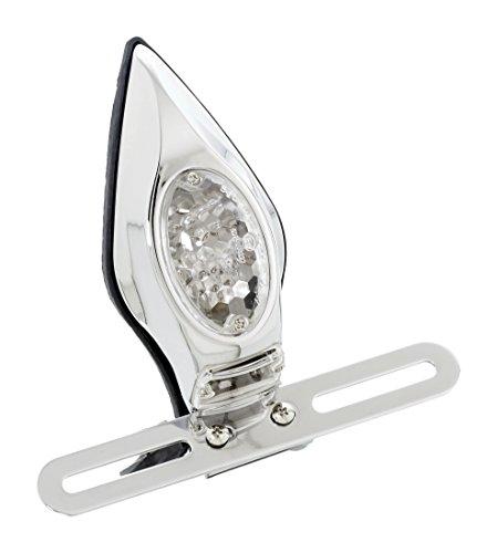 Customaccess Feu Arrière Modèle Flama à LED Homologue avec Support de Plaque