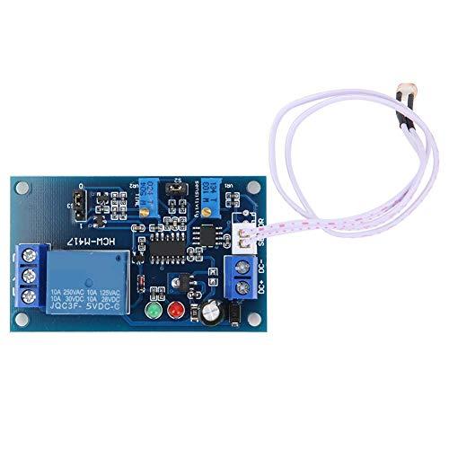Dlb0216 XH-M131 Módulo de sensor de relé de resistencia de fotos LED de detección de luz LED Control de luz Resistencia de fotos Resistencia a la foto Controlado, interruptor de retardo ajustable (5 V