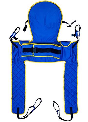 Patienten-Hebe-Kleidung für den Zugang, gepolstert, mit Kopfstütze, Größe M