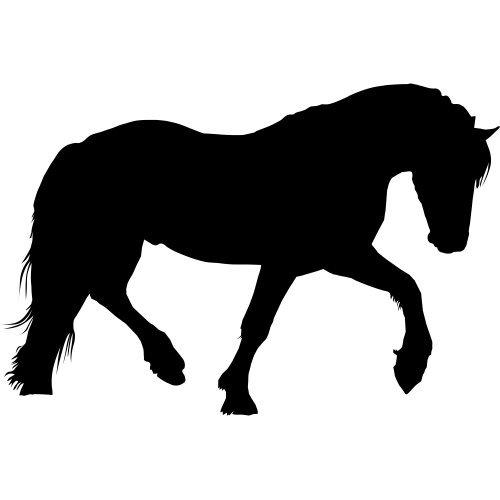 ThatVinylPlace 20 cm Hoog x 20 cm Breed Max Paard Vinyl Decal Auto Boot Jokey Pony Paard Tattoo Auto Sticker Auto Sticker Wanddeur Raam Patio Slaapkamer Keuken_0002