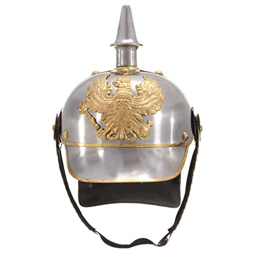 pedkit German Kaiser Tschako Helm Preußischer Helm ~ Cosplay Helm, Imperial Officer...