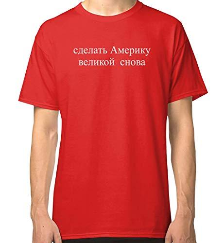 Make A_m_e_r_i_c_a Great Again Сделать Америку Великой Снова Classic T Shirt for Men Women Unisex