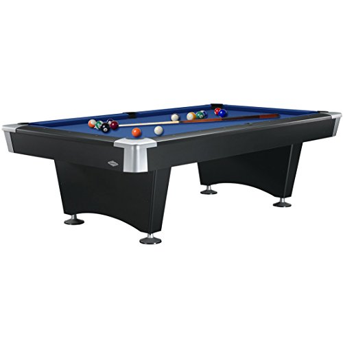 Brunswick 8-Foot Black Wolf Pool Table with Free Contender Play Package Accessories and Brunswick Contender Cloth - Price Includes Free On-site Delivery and Professional Certified Installation