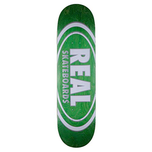 Real Skateboard Deck Oval Pearl Pattern 8.5