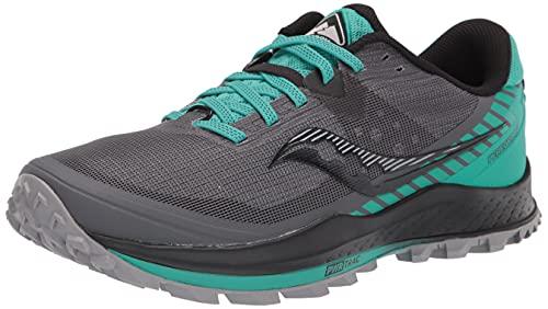 Saucony Peregrine 11 Zapatillas de Trail Running para Mujer Gris Verde 38 EU