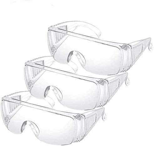 High material Ranking TOP9 3PCS YHGS Safety Glasses Eyewea Protective Goggles Over