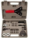 Kraftmann 8825 | Juego de herramientas de acoplamiento para aire acondicionado | 20 piezas