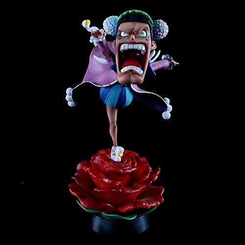 WISHVYQ EIN STÜCK Anime Modell Shemale Von Kray Bentham Kann beleuchtet Werden Statue Modell Boxed Figur Hochwertige Version Skulptur Ornament Statue Puppe Modell Spielzeug Höhe 27cm