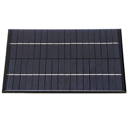 Taidda- Resistente à corrosão para carregador de painel solar de compressão, painel solar portátil de baixo custo embalado com alta eficiência, para pequenos projetos em casa, projetos científicos